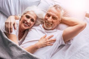 couple after getting a reverse mortgage